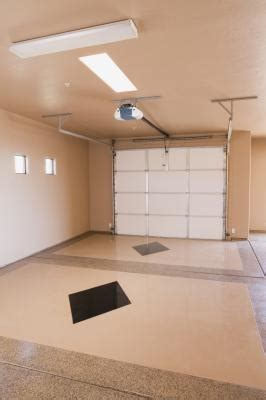 paint drywall garage interiors home guides sf gate