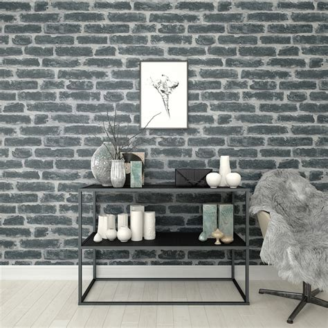 Walpaper Walsticker Dinding 10 M 50 Cm superfresco easy 52cm x 10m industry noir wallpaper bunnings warehouse