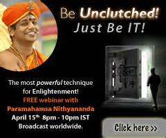 be unclutched worldwide webinar by paramahamsa