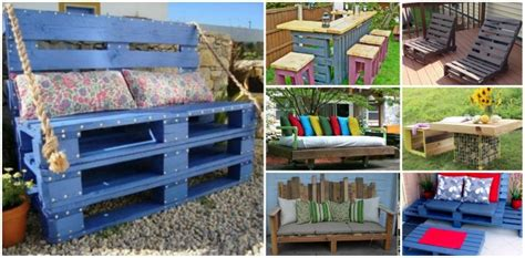 Can You Paint Patio Pavers 20 Outdoor Pallet Furniture Diy Tutorial