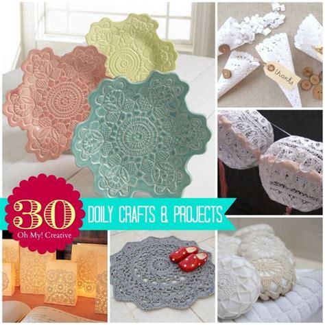 Paper Doilies Crafts - 185 best crafts doilies lace images on