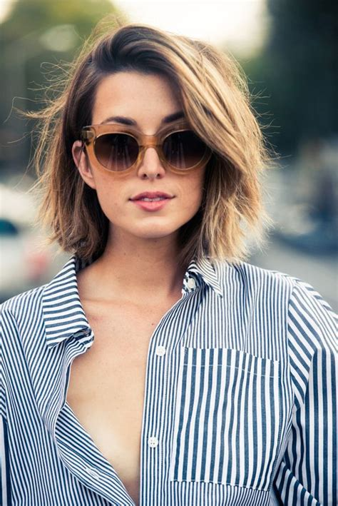 16 chic medium hairstyles for summer styles weekly