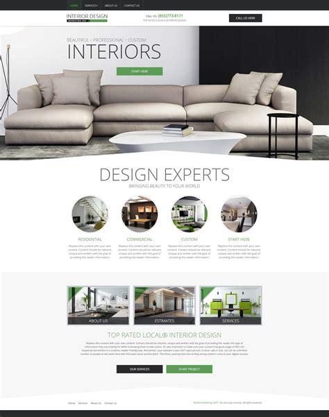 interior design websites interior design website templates mobile responsive web