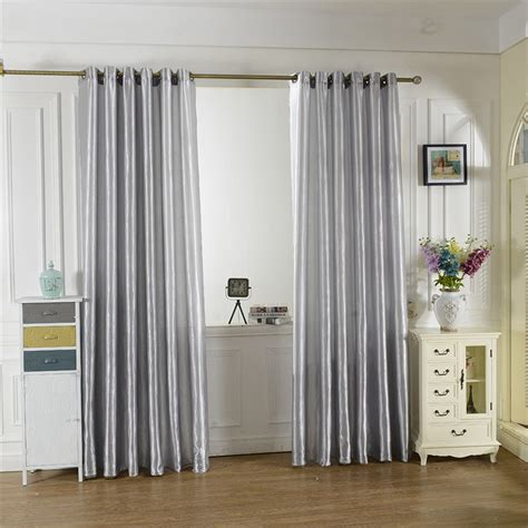 blue satin curtains popular satin curtains buy cheap satin curtains lots from