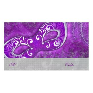 mardi gras table place card template business cards templates zazzle