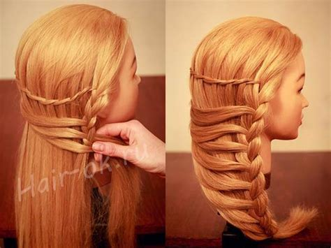 how to braid hair to hide it for a wig how to make stylish side braid hairstyle