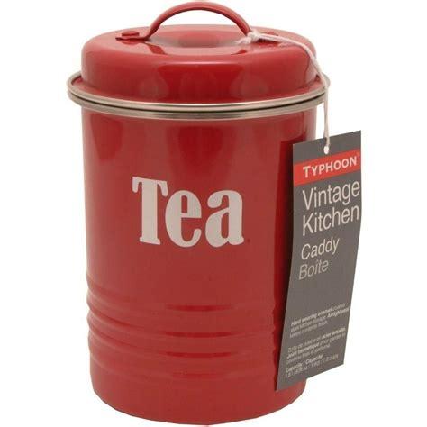 vintage kitchen canister typhoon vintage kitchen tea canister ebay