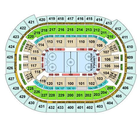 verizon center floor plan verizon center floor plan verizon center dc seating plan