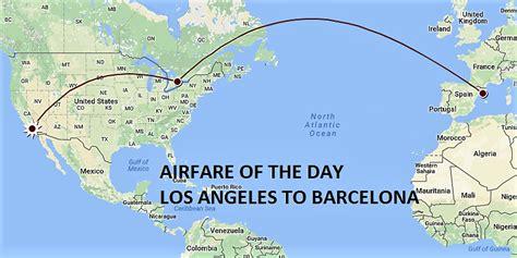 airfare   day uaac los angeles  barcelona usd  rt economycoach loyaltylobby