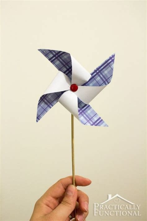 How To Make A Paper Pinwheel Step By Step - how to make a pinwheel free template step by step