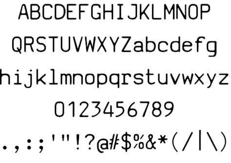 top 11 programming fonts for svi basic manual font by johan winge fontspace