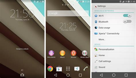 sony xperia themes for android download download android l theme for your sony xperia device