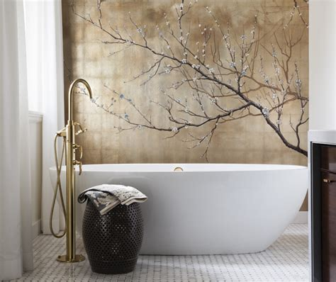 asian bathroom accessories incorporating asian inspired style into modern d 233 cor