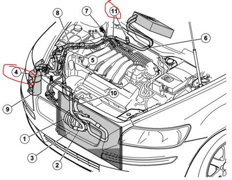 volvo s60 parts diagram volvo s60 questions where do i add refrigeratant to a