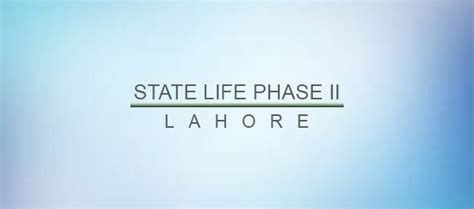 state life insurance housing society lahore current status of state life phase ii zameen blog