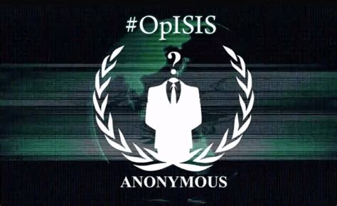 Anonymous Launches Cyber Attack Against Jihadist Website In First | anonymous launches the opisis against isis on