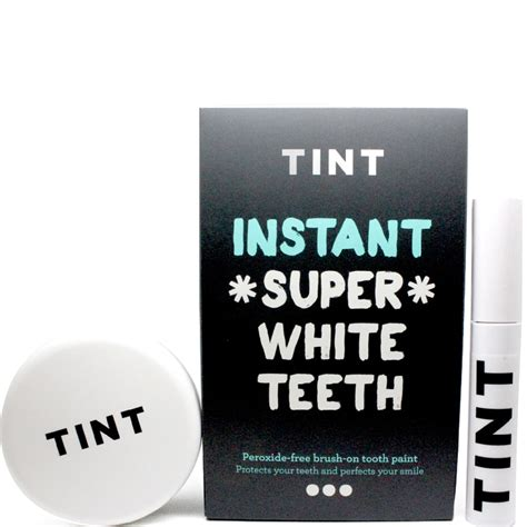 tint instant super white teeth tooth paint buy