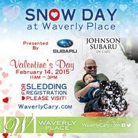 snow day sledding at waverly place valentine's day 2015