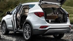 Hyundai Santafe Hyundai Santa Fe 2016 Dimensions Boot Space And Interior