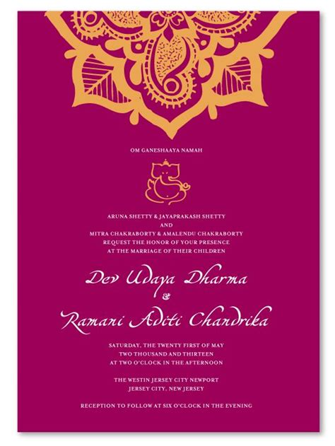indian hindu wedding invitation cards templates free 25 best ideas about indian wedding cards on
