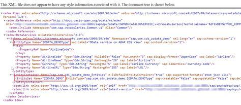 sapui5 odata tutorial how to create odata service for abap cds views sap fiori