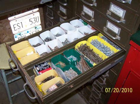 Garage Nuts And Bolts Storage Ideas Garage Organization The Stuff The Garage Journal