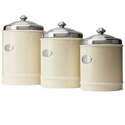 capriware kitchen canisters ceramic stainless steel imax worldwide 5268 3 red ceramic canisters set of 3