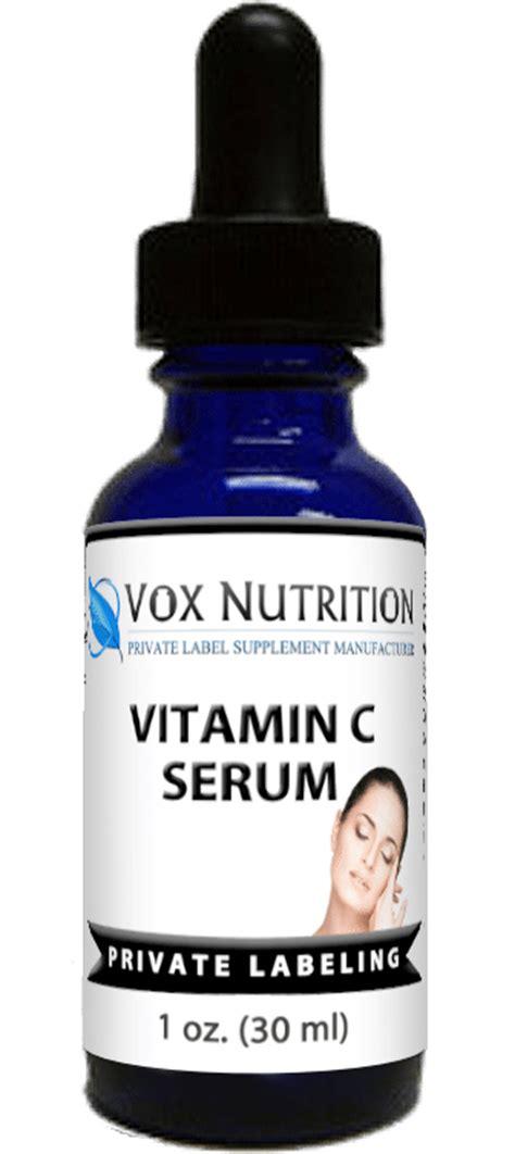 In Jar 5ml C20 Original Vitamin Serum 5ml label vitamin c serum vox nutrition