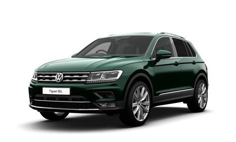 dark green volkswagen volkswagen tiguan ii 2018 couleurs colors