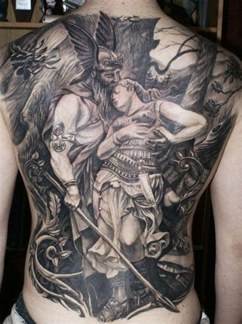 viking tattoo back pieces collection of 25 back piece viking warrior and skull tattoos