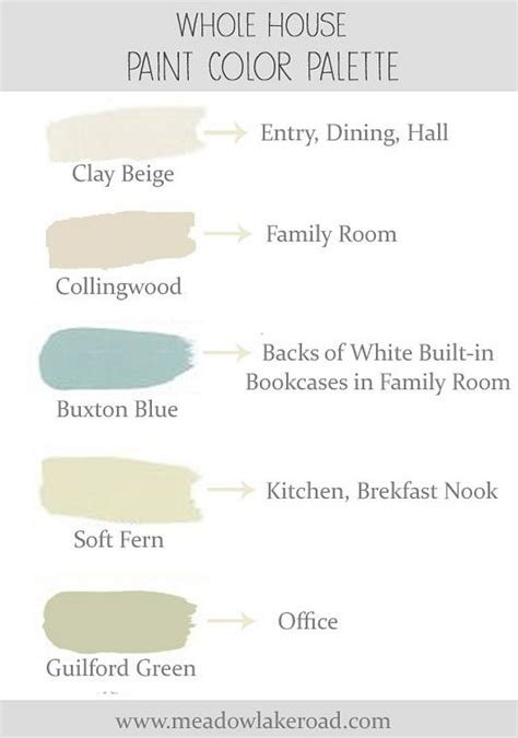 paint palettes for home interior paint color and color palette ideas with pictures