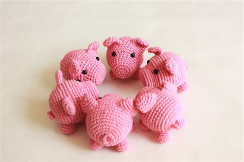 pattern crochet pig happyamigurumi new amigurumi pattern little pig pdf