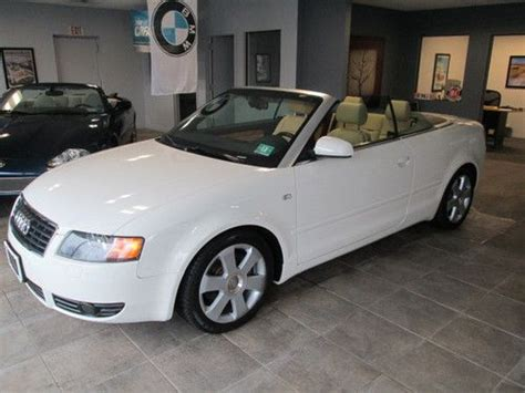 how cars run 1996 audi cabriolet transmission control purchase used 2006 audi a4 quattro convertible 3 0l low miles in westhton beach new york