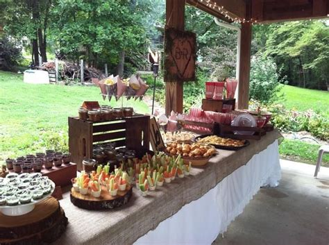 food ideas for backyard wedding best 25 outdoor bridal showers ideas on pinterest