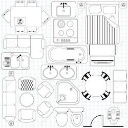 Floor Plan Symbols Clip Floor Plan Symbols Clipartfest Floor Plan Clip Floor Plan Furniture Clipart
