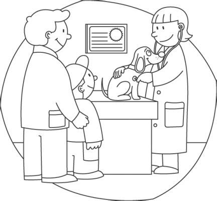 coloring pages veterinarian veterinary coloring pages 171 free coloring pages