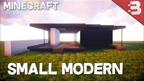 how to build a small house minecraft how to build a small modern house tutorial