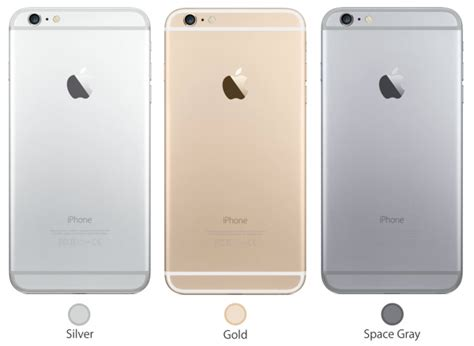 iphone 6 color choices which to buy iphone6 or iphone 6 plus isource