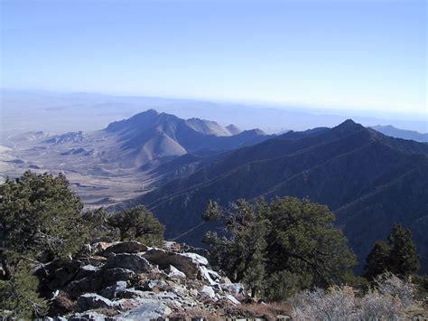 hundred peaks section southern california hiking owens peak november 11 2002