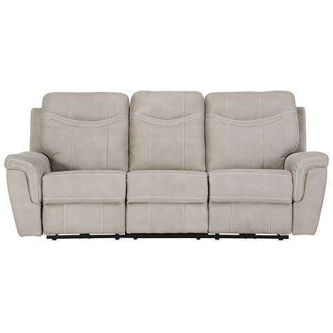 microfiber power reclining sofa city furniture boardwalk pewter microfiber power