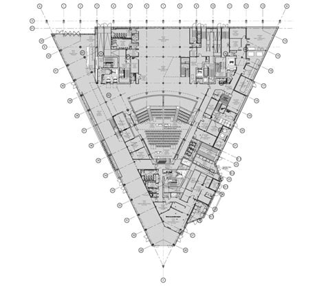 Floor Planning Technology And Innovation Centre Bdp Archdaily