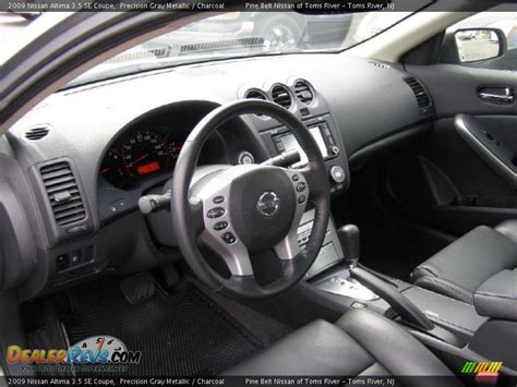 nissan altima interior 2009 charcoal interior 2009 nissan altima 3 5 se coupe photo