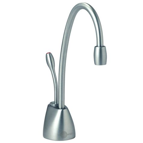Water Dispenser Faucet insinkerator indulge contemporary single handle instant water dispenser faucet in brushed