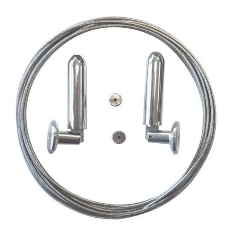 Cable Acier Rideau by Ensemble Cable Acier L5 M Argent Accessoire Rideau