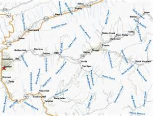 kentucky map harlan county my kinfolks of ky and beyond story tellers pg 10
