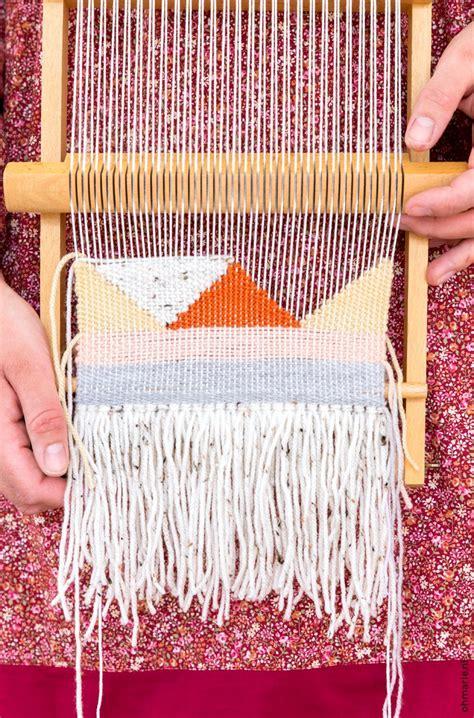 kleed weven leren weven om te beginnen