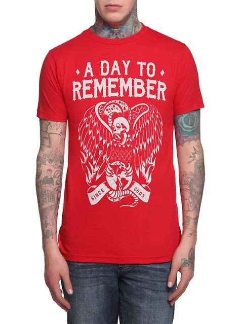 Kaos Band A Day Remember Tshirt Musik A Day 03 shoptagr a day to remember bird t shirt by topic