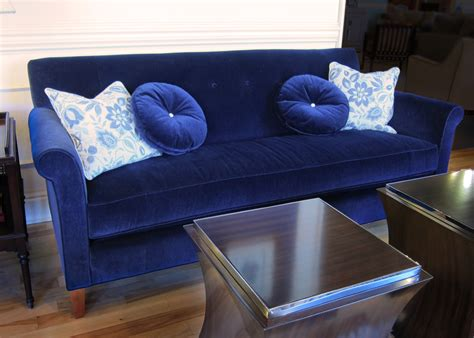 royal blue sectional couches royal blue velvet sectional sofa okaycreations net