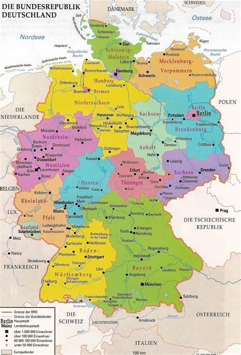 karte deutschland deutschlandkarte