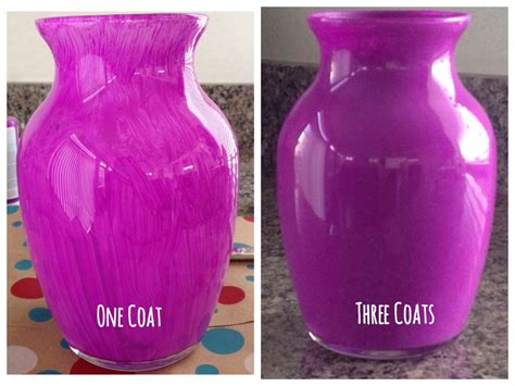 How To Paint A Vase by Diy Painted Glass Vases Runaway
